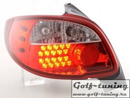 Peugeot 206 98-05 Фонари светодиодные, красные