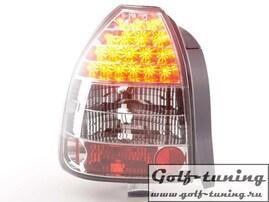 Honda Civic 92-95 Фонари светодиодные, красно-белые