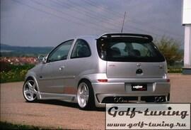 Opel Corsa C Накладки на пороги