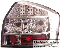 Audi A4 B6 00-04 Фонари светодиодные, хром