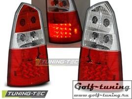 Ford Focus 98-04 Универсал Фонари светодиодные, красно-белые