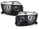Renault Duster 09-17 Фары черные