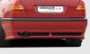 Mercedes W202 97- Седан Накладка на задний бампер