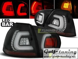VW Golf 5 Фонари светодиодные, черные Lightbar с светодиодным поворотником