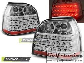 VW Golf 3 Фонари светодиодные, хром