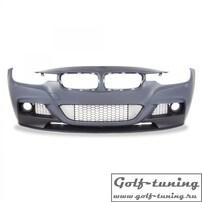 BMW F30 11- Бампер передний Sport Look