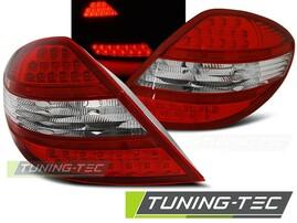 Mercedes R171 SLK 04-11 Фонари светодиодные, красно-белые