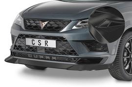 Seat Cupra Ateca 18- Накладка на передний бампер Carbon look