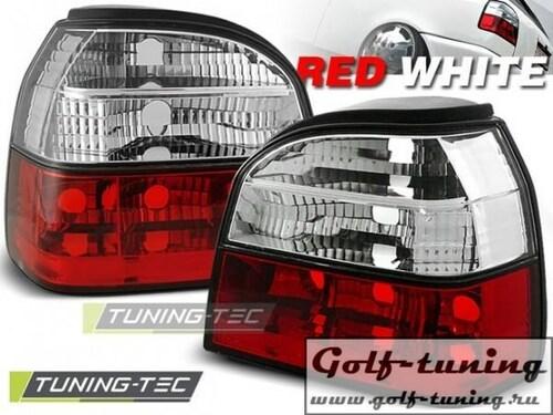 VW Golf 3 Фонари красно-белые