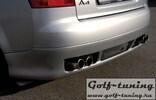 Audi A4 8E 00-04 Седан Накладка на задний бампер