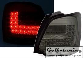 VW Polo 6R Фонари светодиодные, тонированные