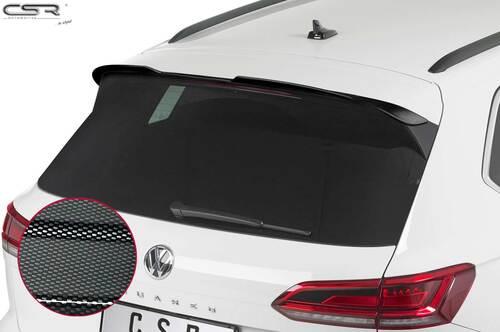 VW Touareg 3 (Typ CR) 07/2018- Спойлер на крышку багажника carbon look