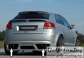 Audi A3 8P 3D Глушитель rieger typ14