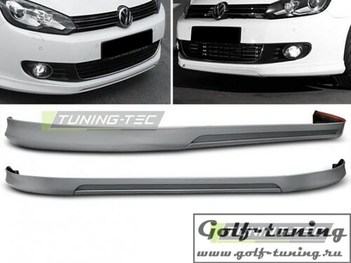 VW Golf 6 Губа Votex Style