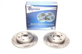 Mazda 3 Комплект спортивных тормозных дисков
