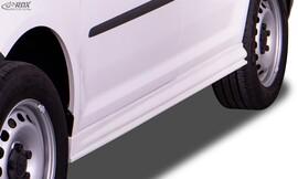 VW Caddy 2003-2020 Накладки на пороги edition