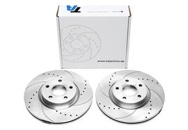 Ford/Volvo 03- Спортивные тормозные диски передние