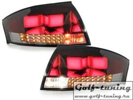 Audi TT 8N 98-05 Фонари светодиодные, красно-тонированные