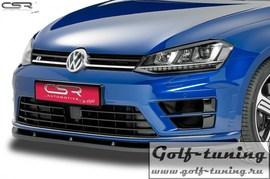 VW Golf 7 R 12-17 Накладка на передний бампер Cupspoilerlippe