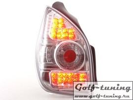 Citroen C2 03- Фонари светодиодные, хром