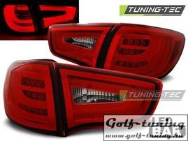 KIA Sportage 10-14 Фонари светодиодные, красно- белые Lightbar