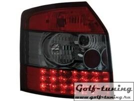 Audi A4 B6 00-04 Универсал Фонари светодиодные, красно-тонированные