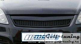 Opel Zafira B 05- Решетка радиатора без значка с сеткой