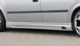 Opel Astra G 5Дв Накладки на пороги