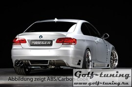 BMW E92 / E93 Накладка на задний бампер