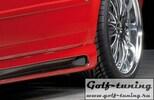 Audi A4 B6/B7 00-08 Седан/Универсал Накладки на пороги