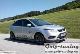 Ford Focus 04-11 Пороги carbon