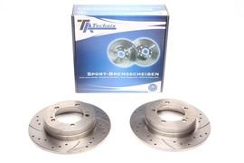 Mitsubishi Eclipse I Комплект спортивных тормозных дисков