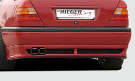 Mercedes W202 93-97 Накладка на задний бампер