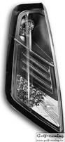 Fiat Grande Punto 05-09 Фонари светодиодные, черные