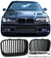 BMW E36 91-96 Решетки радиатора (ноздри) черные