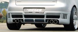 VW Golf 5 Глушитель rieger 4x76mm