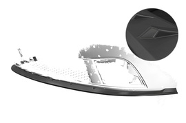 Seat Ibiza III (Typ 6L) 06-08 Накладка на передний бампер матовая