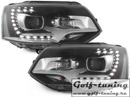 VW T5 GP 09-15 Фары Original Xenon Look черные