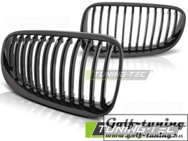 BMW E92 10-13 Решетки радиатора (ноздри) черные, глянец