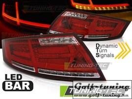 Audi TT 06-14 Фонари с дизайном Ligthbar светодиодные, красно-белые