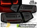 Audi A6 4F 08-11 Седан Фонари светодиодные Led bar design тонированные