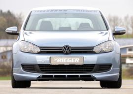 VW Golf 6 Спойлер переднего бампера