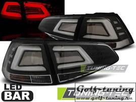 VW Golf 7 12-17 Фонари светодиодные, черные lightbar design