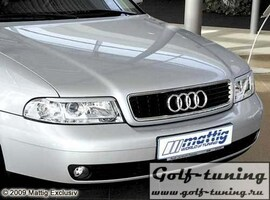 Audi A4 99-01 Ресницы carbon look