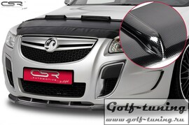 Opel Insignia OPC 08-13 Накладка на передний бампер Cupspoilerlippe carbon look