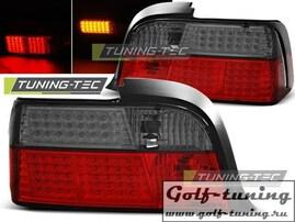 BMW E36 Coupe 90-99 Фонари светодиодные, красно-тонированные