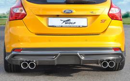 Ford Focus ST 11- Выхлопная система Rieger