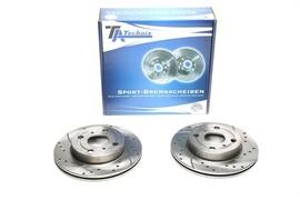 Toyota Yaris 99-05 Комплект спортивных тормозных дисков