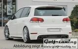 VW Golf 6 GTI/GTD Накладка на задний бампер