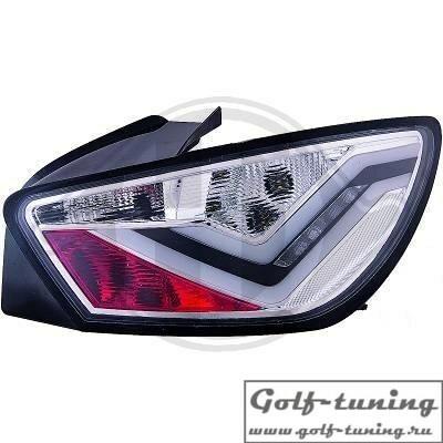 Seat Ibiza 6J 08-12 3Дв Фонари светодиодные, lightbar design, хром